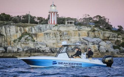 788SF fitted with Seakeeper 2 gyro
