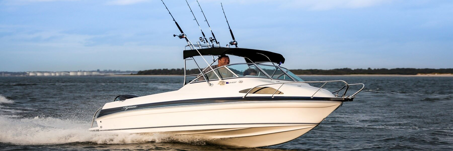 Haines Signature Boats - Fishing World takes on the 545F